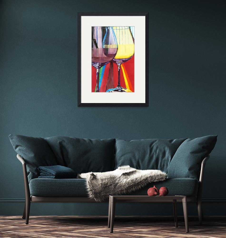 """""""Pinot Illusions I""""  (2010) by DianaNadalFineArt"""