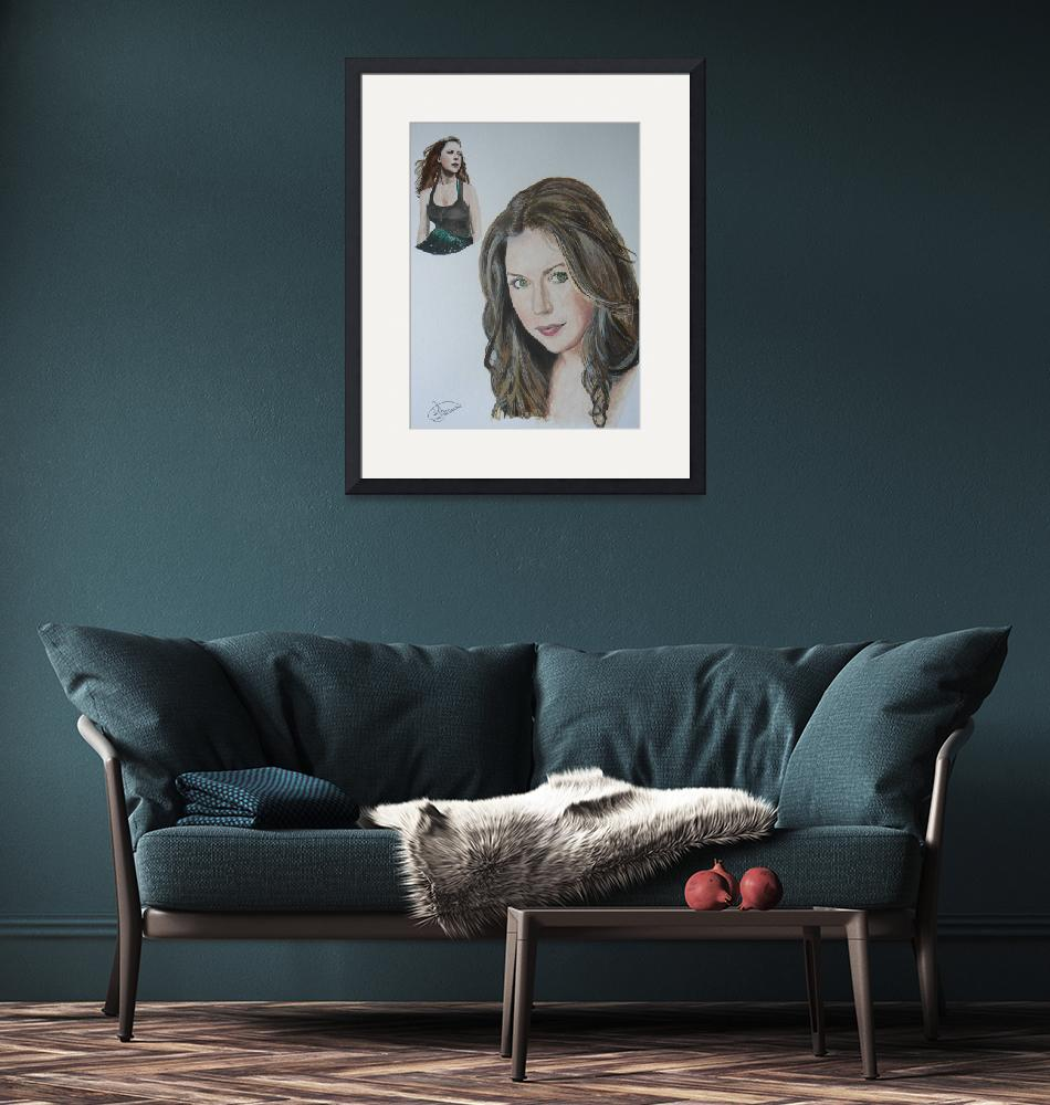 """Hayley Westenra""  (2008) by Rogertheartist"