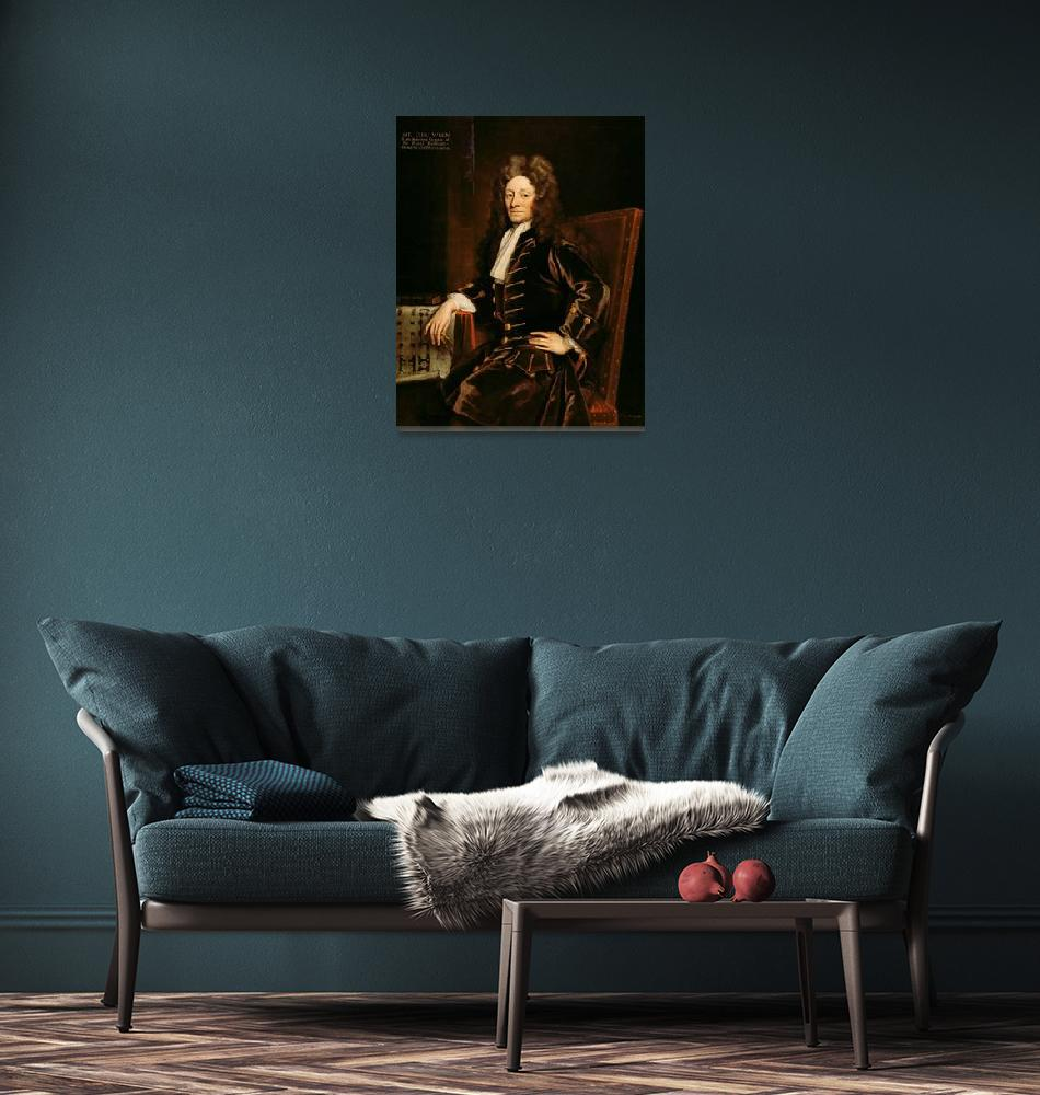 """""""Portrait of Sir Christopher Wren""""  by fineartmasters"""
