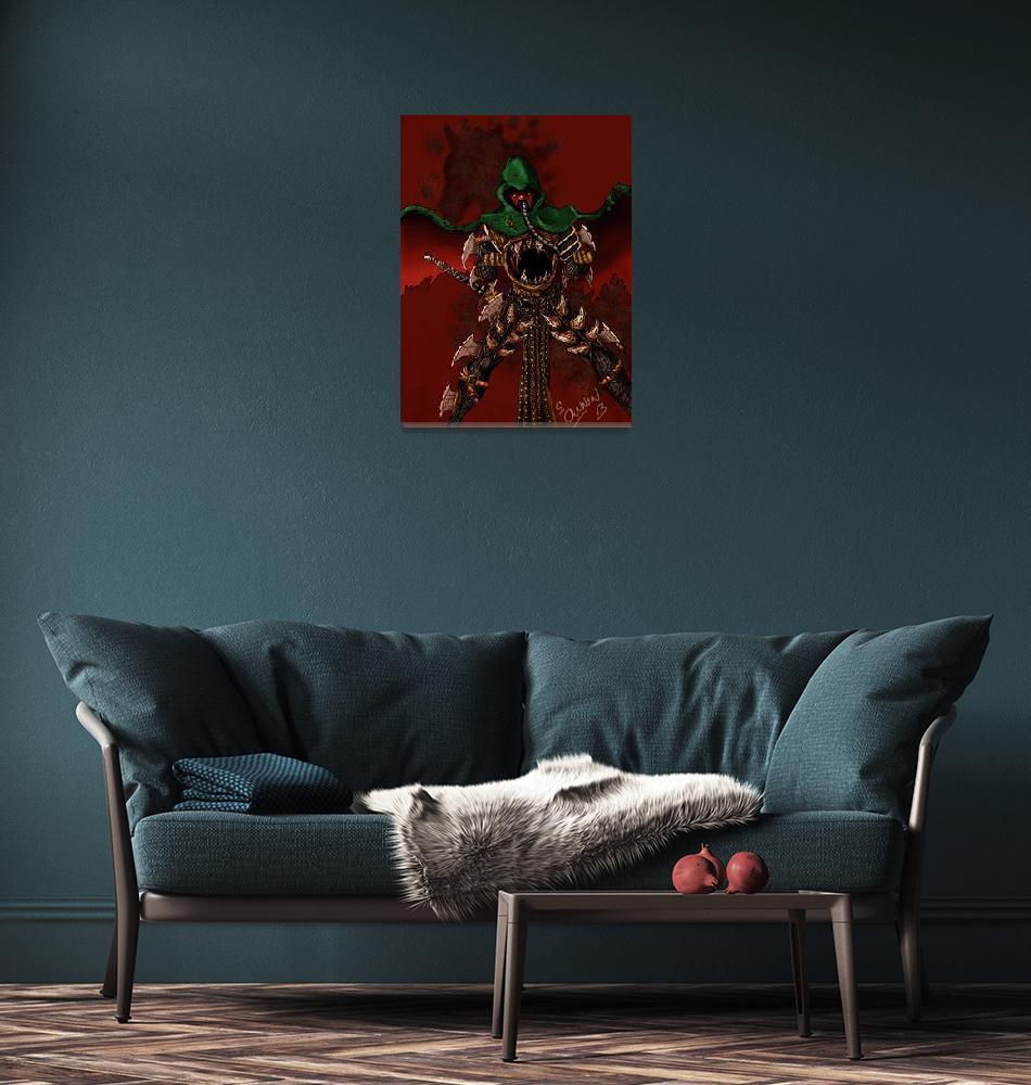 """""""Pestilence""""  (2013) by CannonArts"""