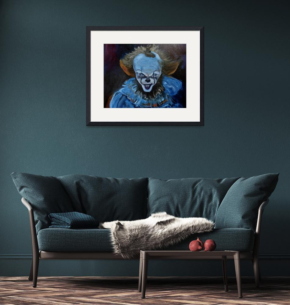 """""""A Scary Clown""""  by jennylee"""