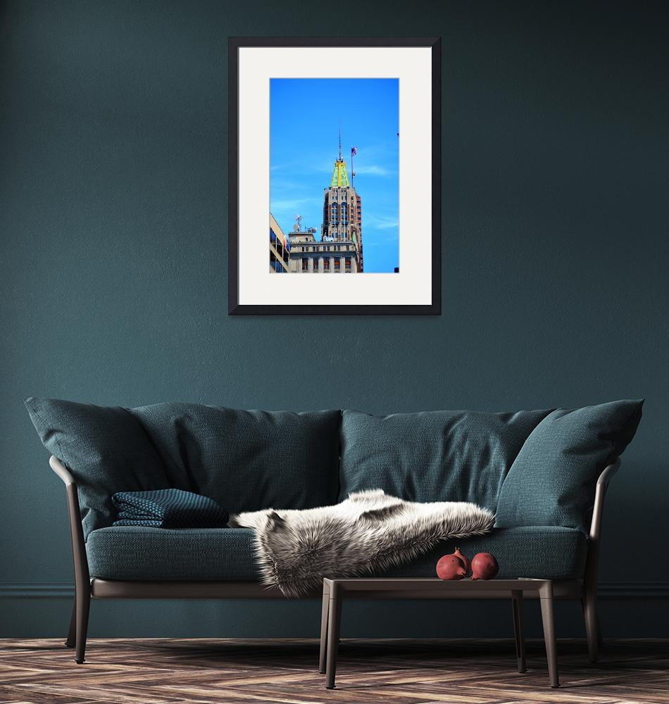 """""""Bank of America Building, Baltimore, Maryland""""  by Artsart"""
