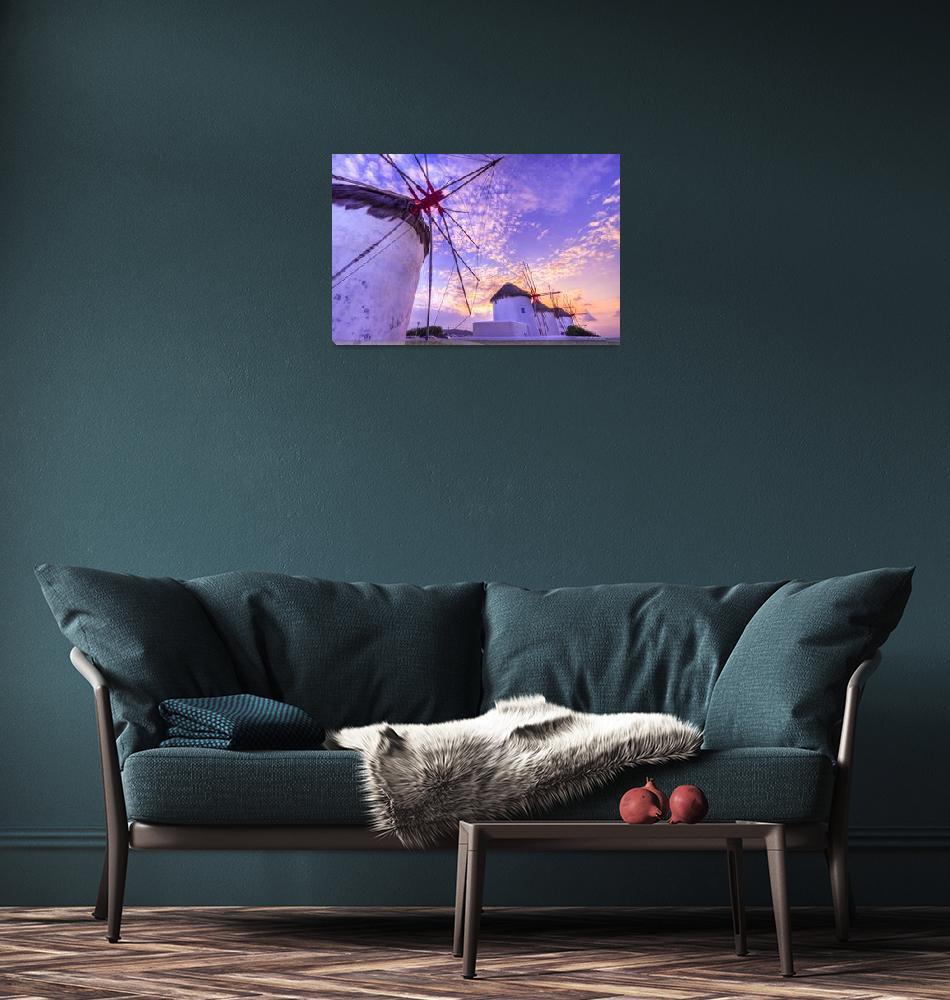 """""""Mykonos Sunset""""  (2009) by markeloperphotography"""
