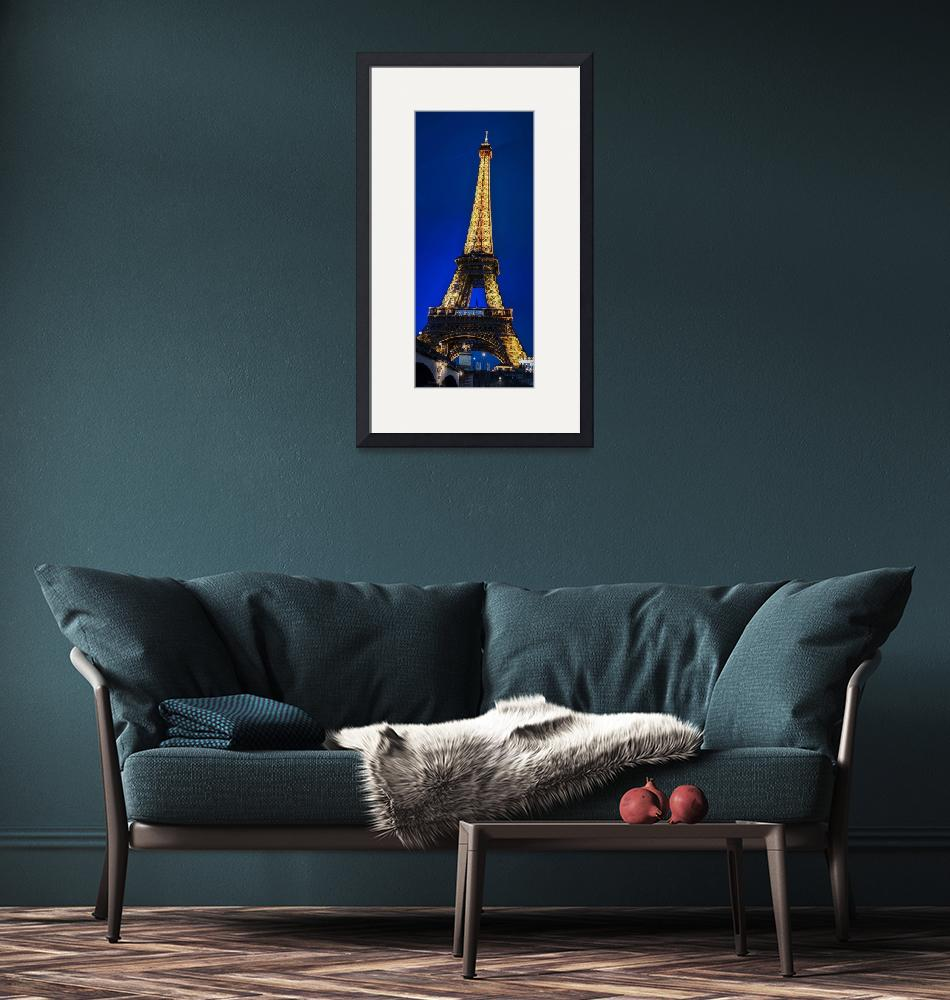 """Eiffel Tower Panorama""  (2019) by JeanniesPhotography"