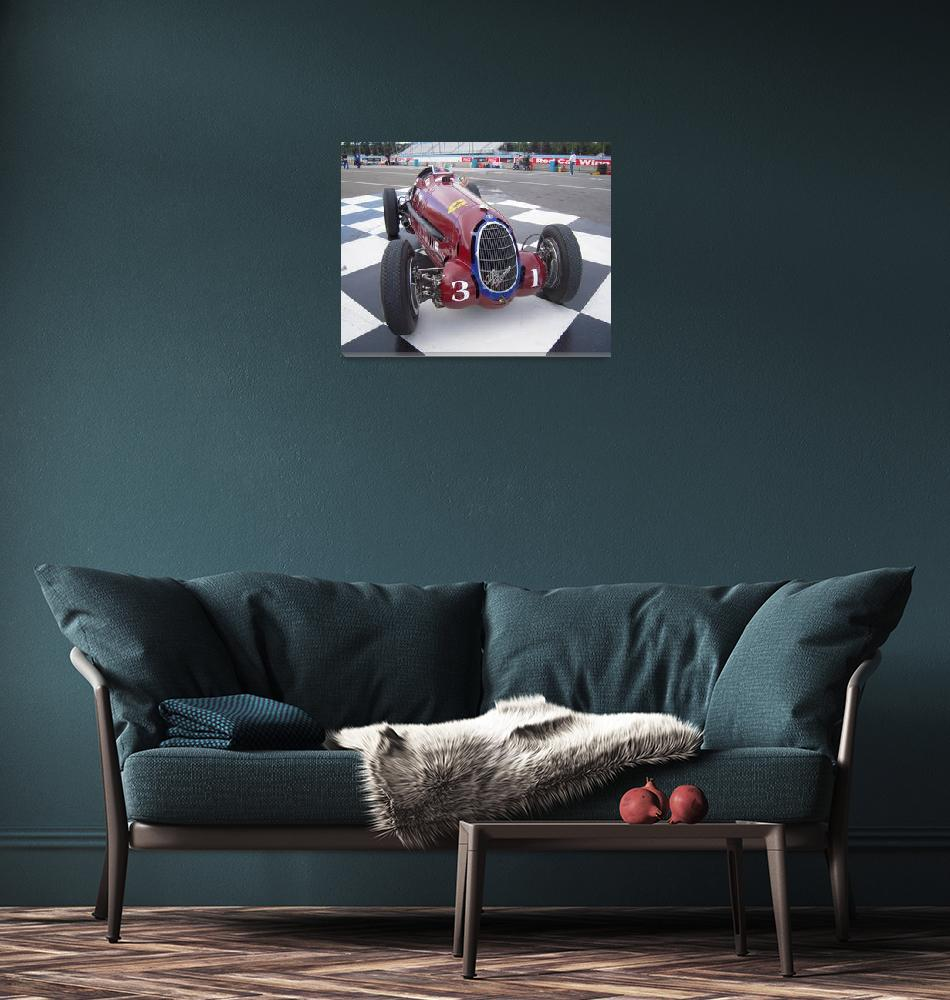 """""""1935 Alfa Romeo Grand Prix Race Car""""  (2011) by DonStruke"""