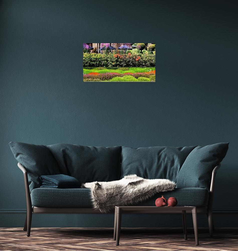 """Lanarch Castle Gardens, NZ""  (2008) by mjphoto-graphics"