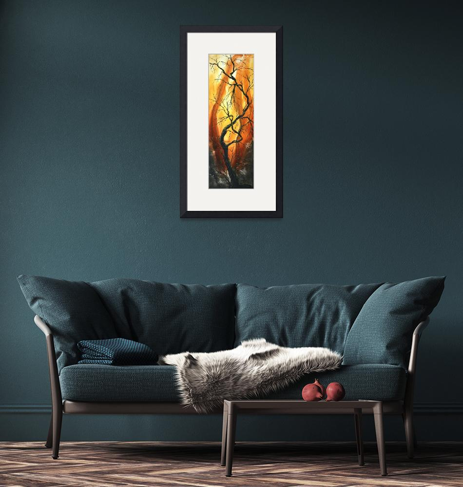 """""""""""striving to be the best"""" Original Painting""""  by meganduncanson"""