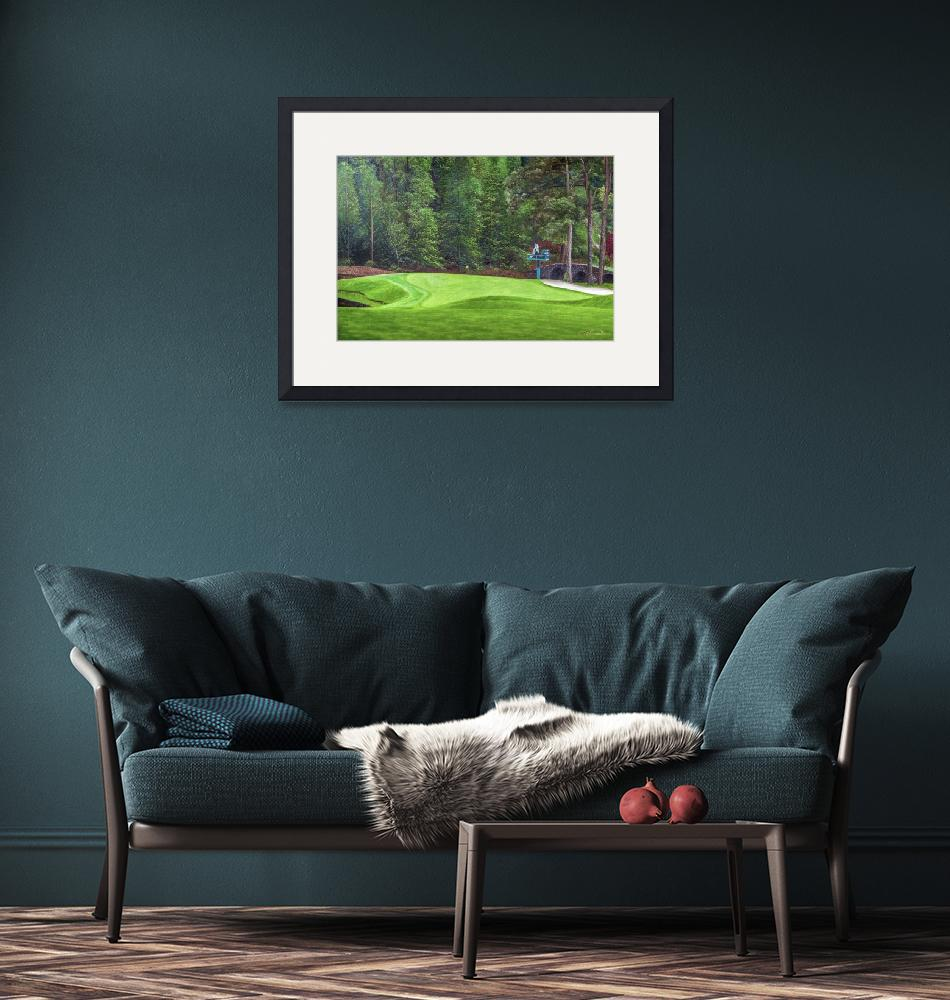 """""""Augusta National Golf Club Masters Tournament Hole""""  by Richimage"""