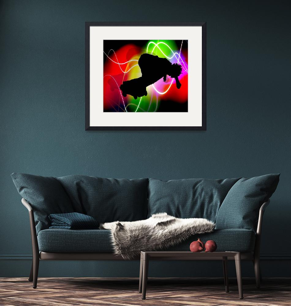 """""""Electric Spectrum Skater copy""""  by ElainePlesser"""