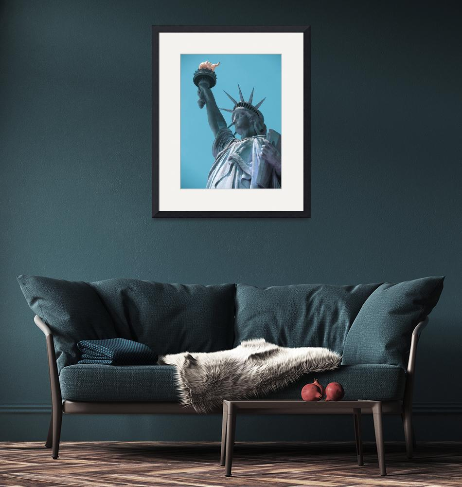 """""""The Statue of Liberty in New York City 4 a""""  by motionage"""