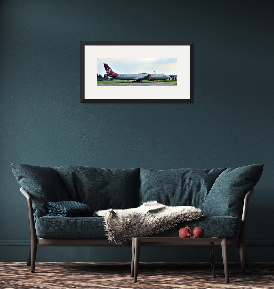 """""""Virgin A340/600""""  (2009) by JoaoPonces"""