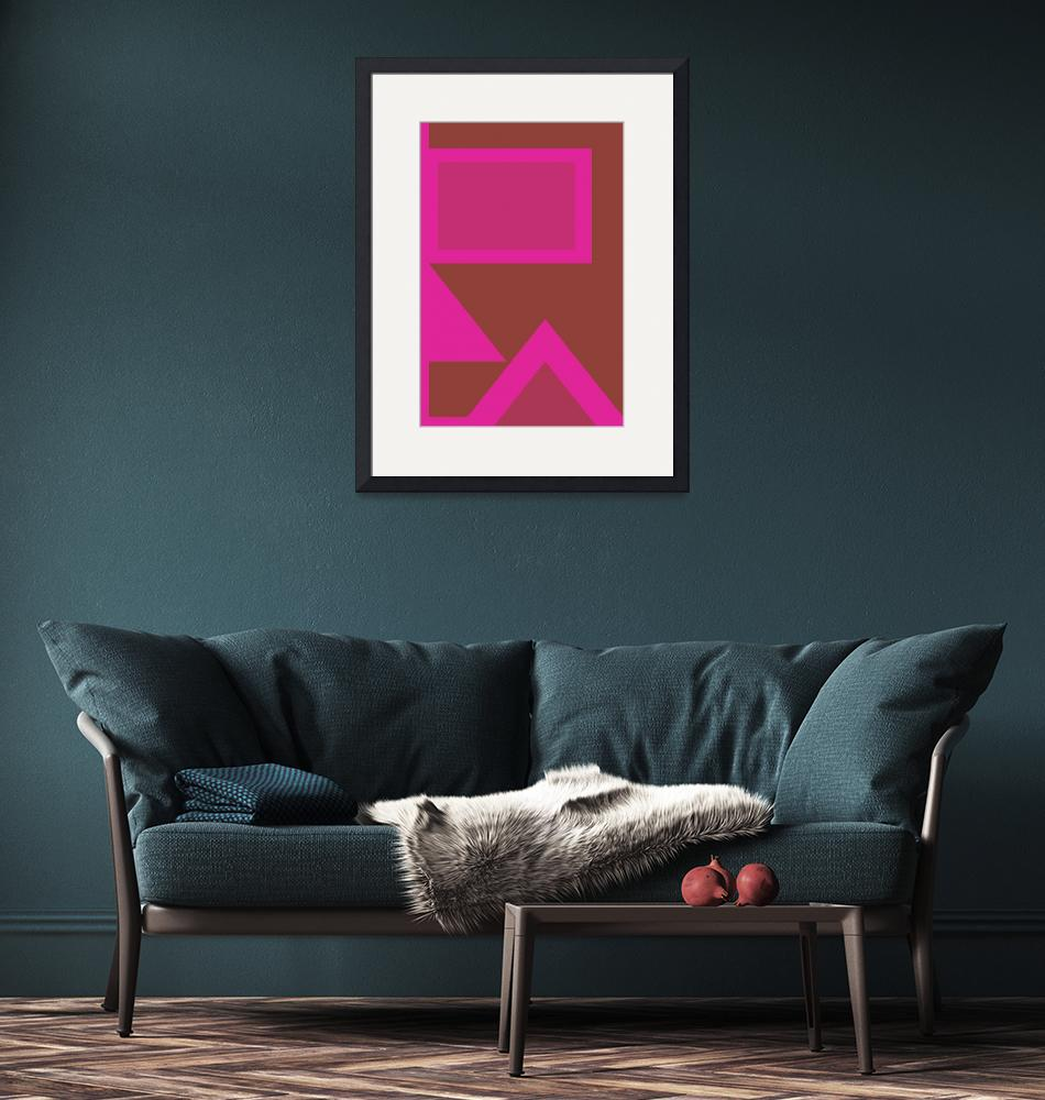 """""""Color Combination of Geometric Abstraction No 6 by"""" by motionage"""
