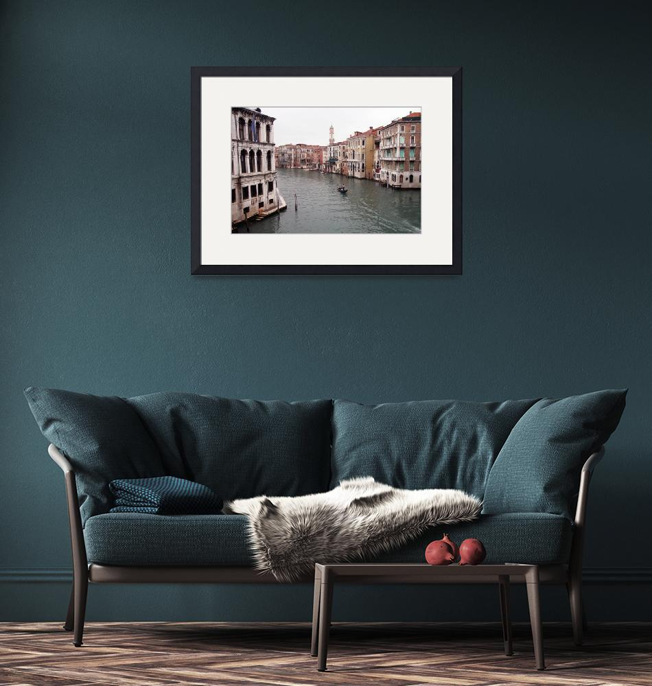 """""""Venice Canal"""" (2007) by debby19"""