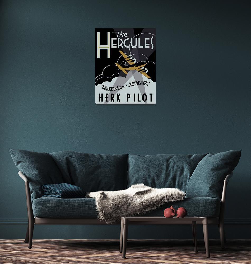 """Herk Deco - Herk Pilot""  (2009) by mabrooks"
