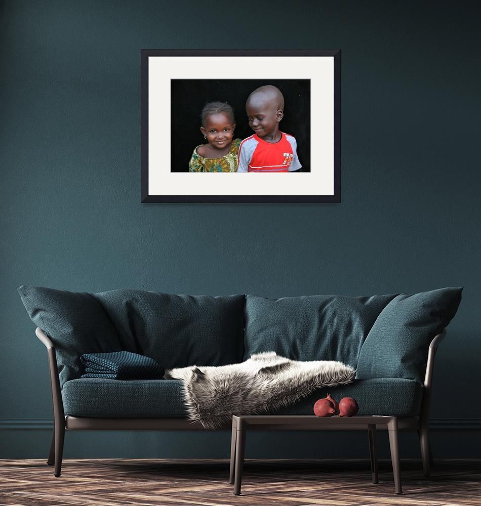 """""""Mauritanian Siblings""""  (2009) by AndreaMoorePhotography"""