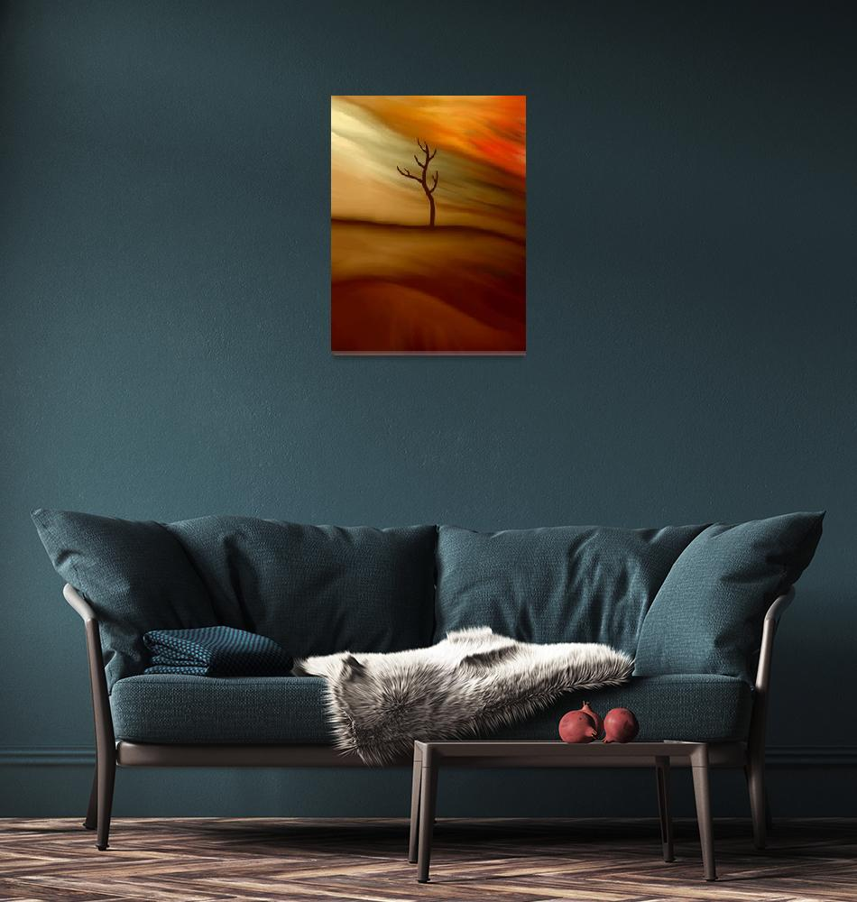 """Landscape tree""  (2011) by jonathantal"