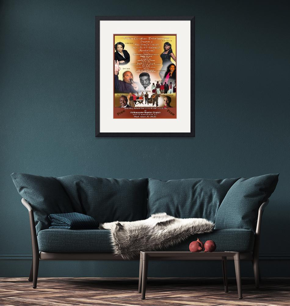 """""""Concert Poster""""  (2010) by LAArtworks"""