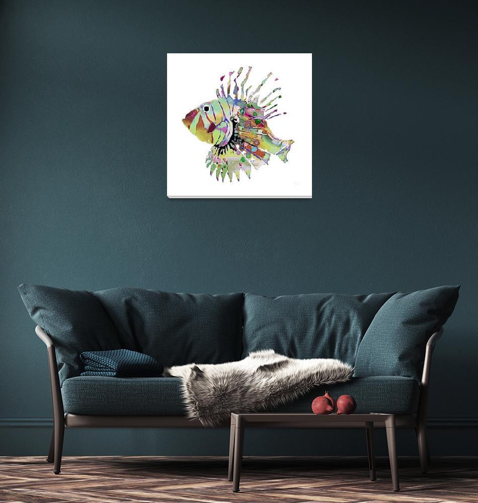 """FantaSea Fish  #2""  (2008) by FantaSeaArt"