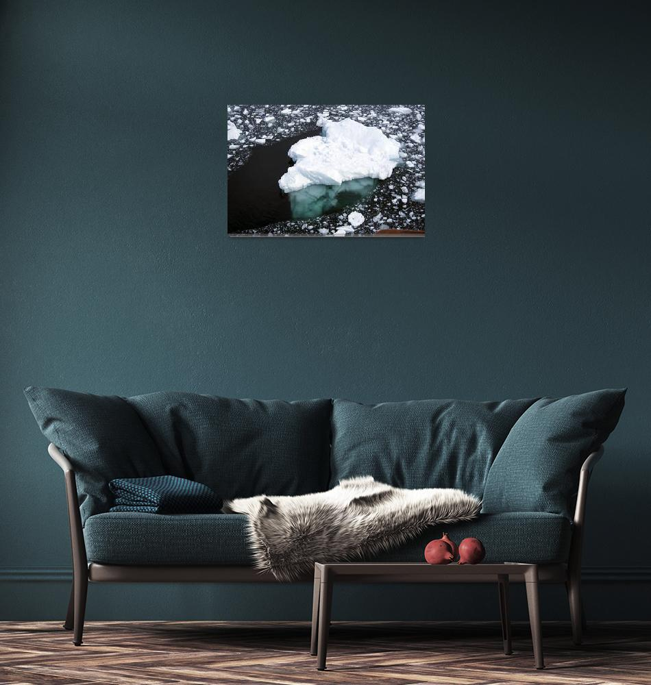 """Antarctica-Iceberg-11386""  (2012) by FindleyPhoto"