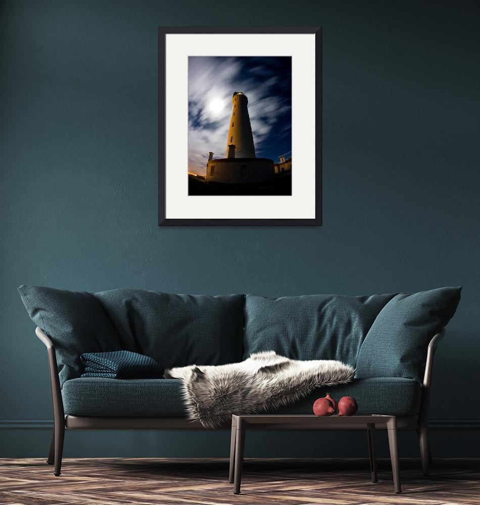 """""""Covesea Lighthouse, Lossiemouth, Scotland""""  (2008) by firstlightmedia"""