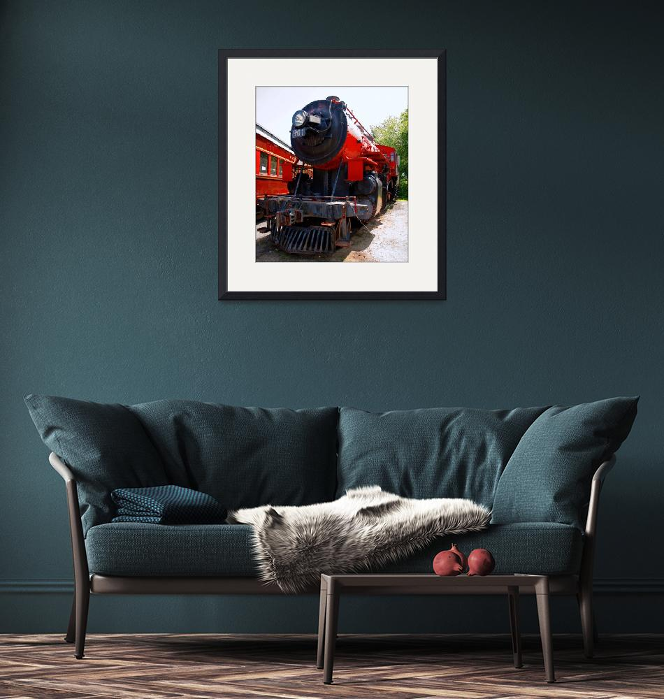 """""""Red Train""""  by doncon402"""