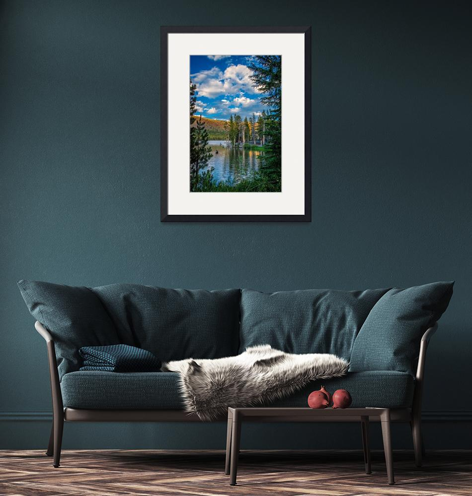 """""""Lake Mary Vertical""""  (2017) by LynnBauer"""