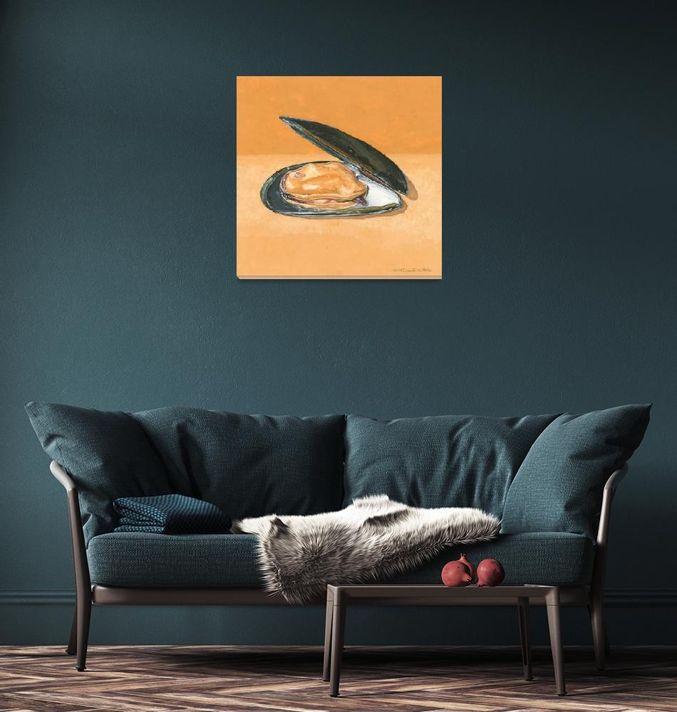 """""""Open Mussel""""  (2009) by dominicwhite"""