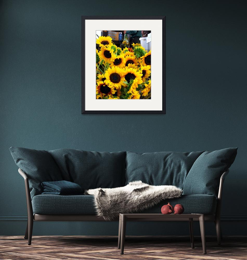 """Sun Flowers at the Farmer"