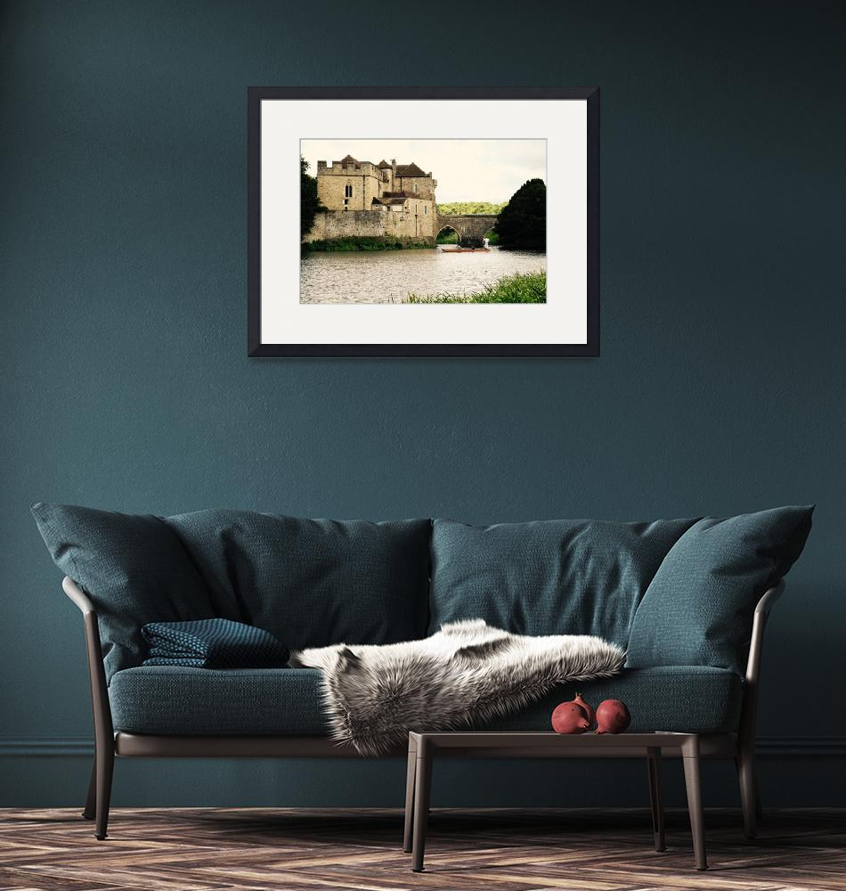 """""""Leeds Castle in England""""  (2017) by Keiki"""