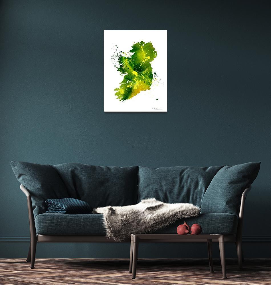 """Ireland""  (2015) by k9artgallery"