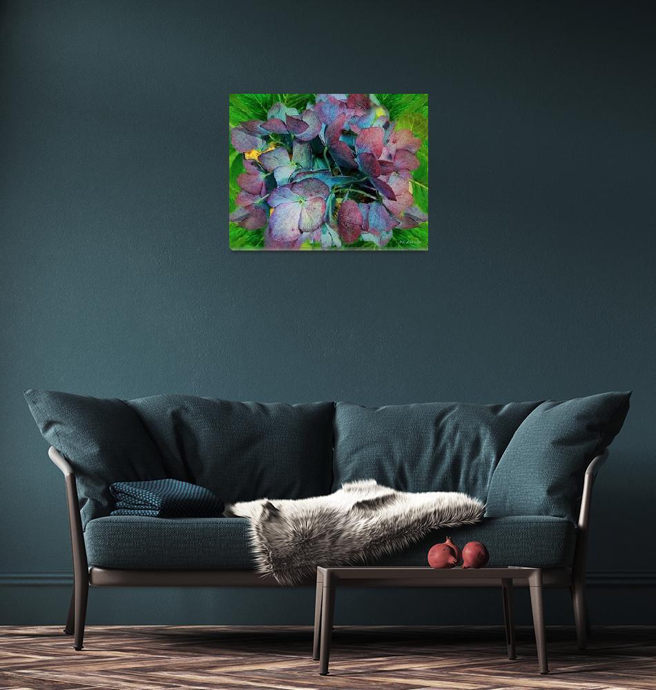 """""""French Hydrangea Rainbow""""  (2009) by RCdeWinter"""