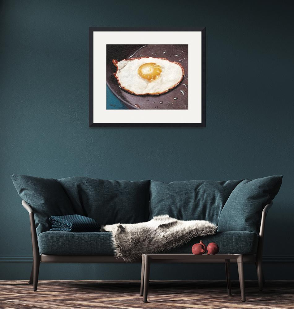 """""""March-Fried egg""""  by yuezeng"""