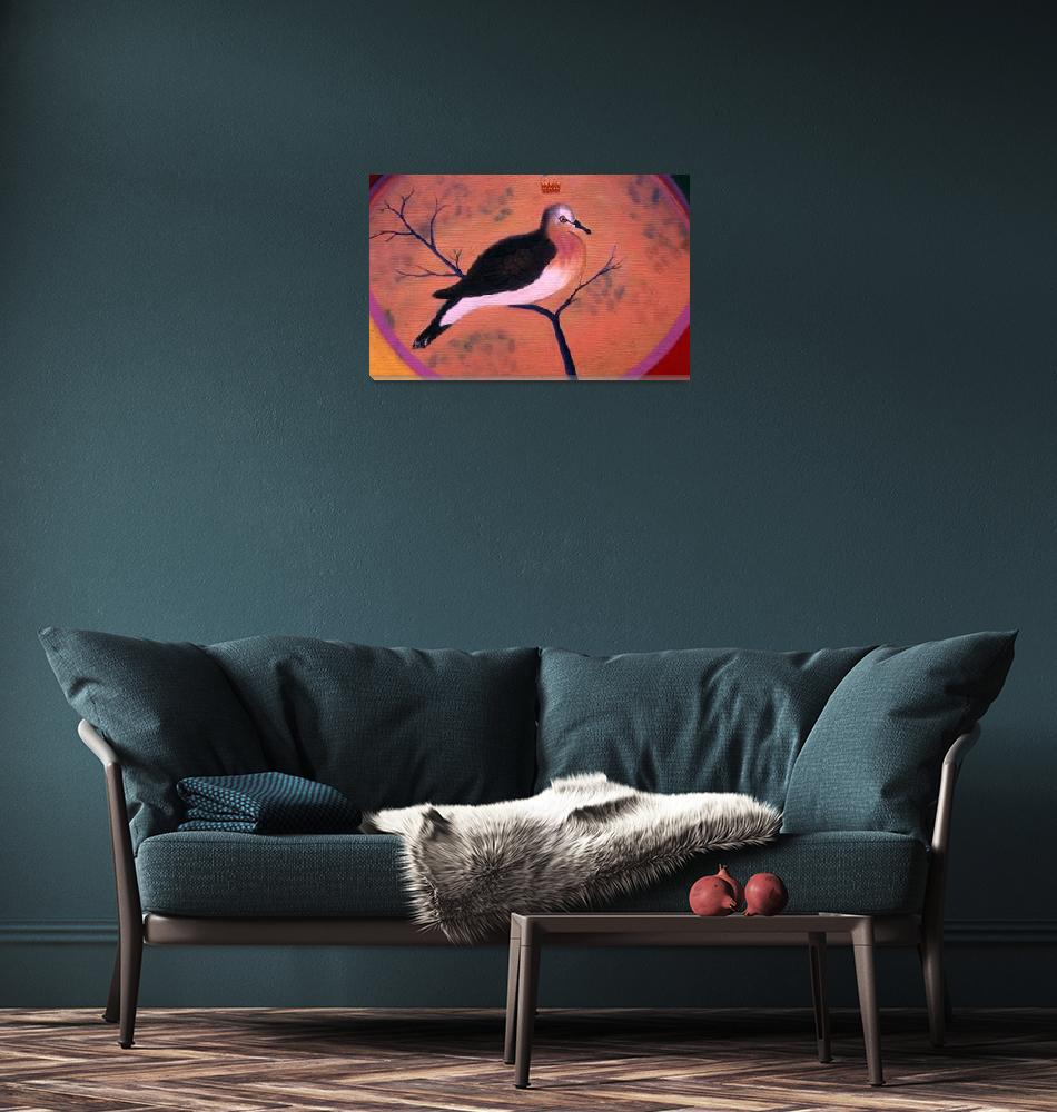 """The Grenada Dove""  (1993) by deannscottspaintings"