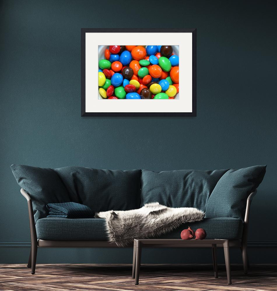 """""""M&Ms""""  (2009) by DonnaCorless"""
