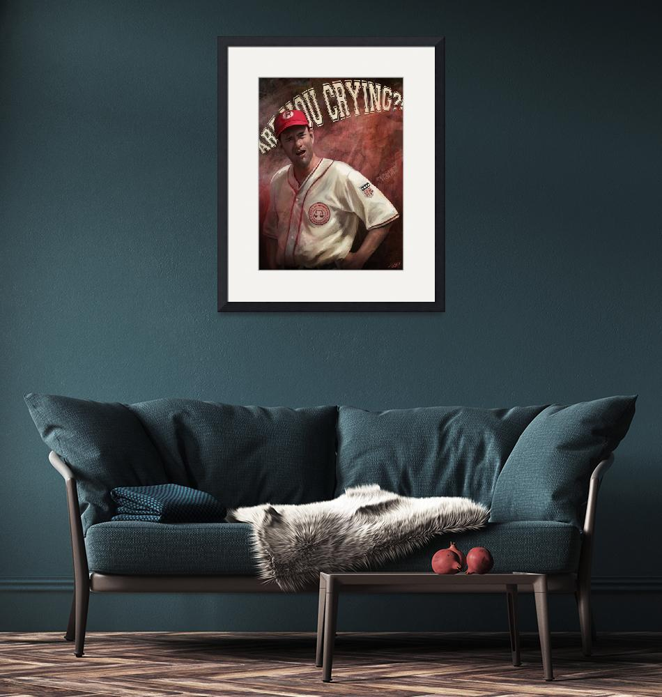 """""""No Crying in Baseball"""" (2014) by stevegoad"""
