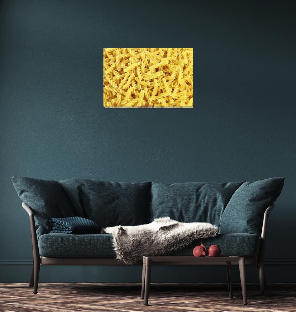 """""""Pasta Background""""  (2011) by ArgosDesigns"""