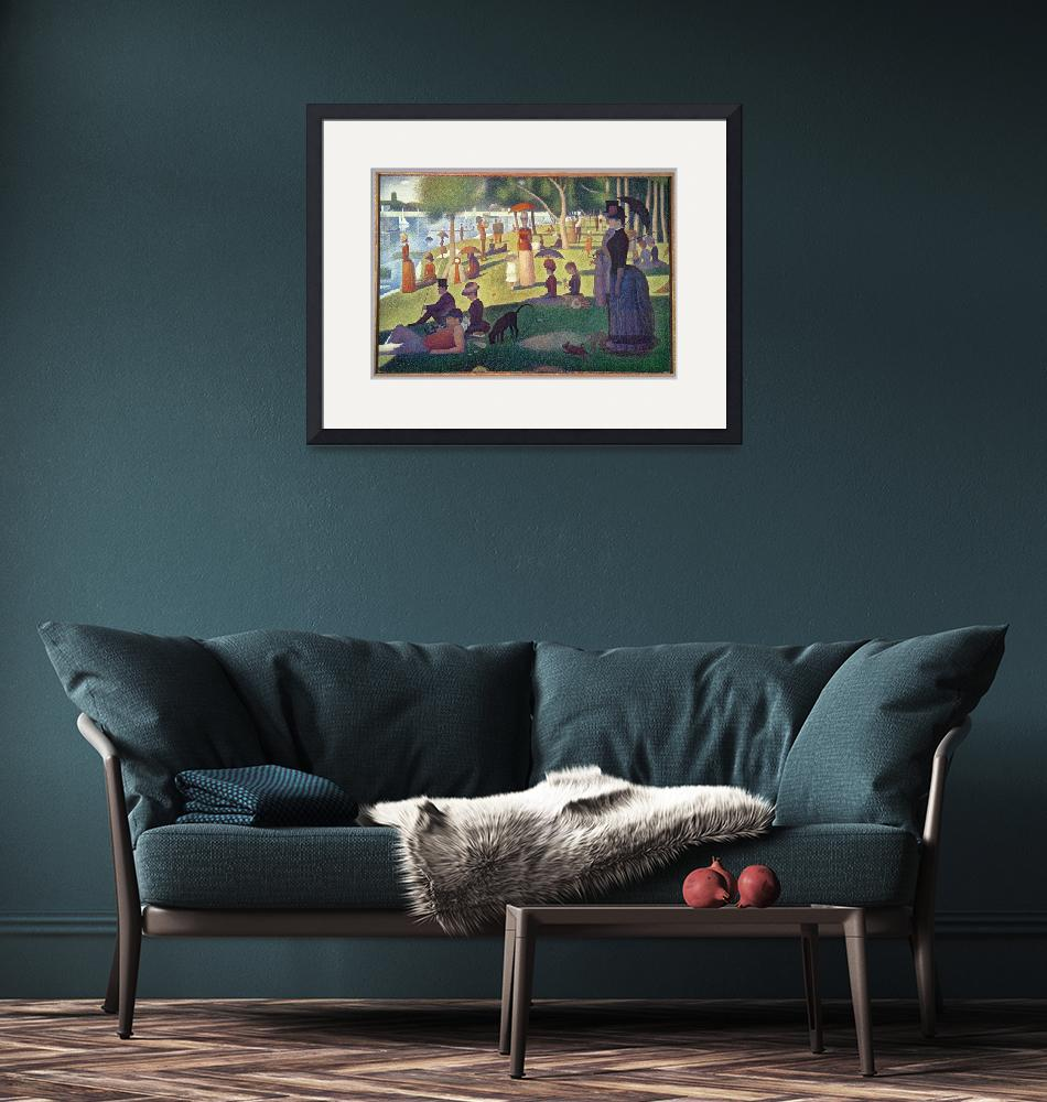 """""""Sunday Afternoon on the Island of La Grande Jatte""""  by fineartmasters"""