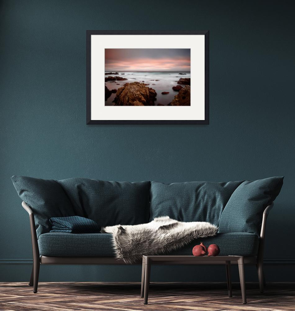 """""""65 seconds of sunset - ocean seascape""""  (2007) by miir"""