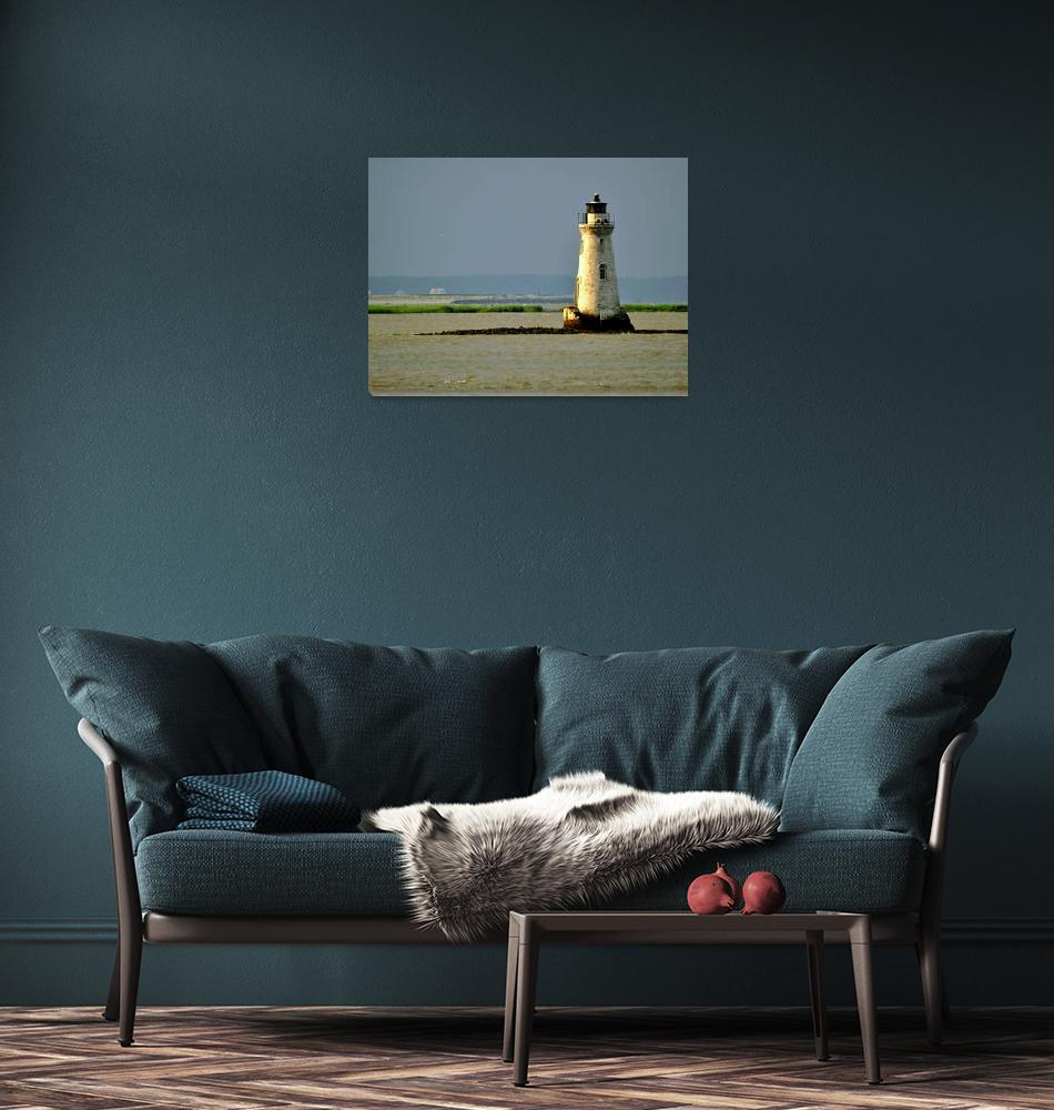 """""""Cockspur Lighthouse""""  (2009) by BetsyStraleyPhotography"""