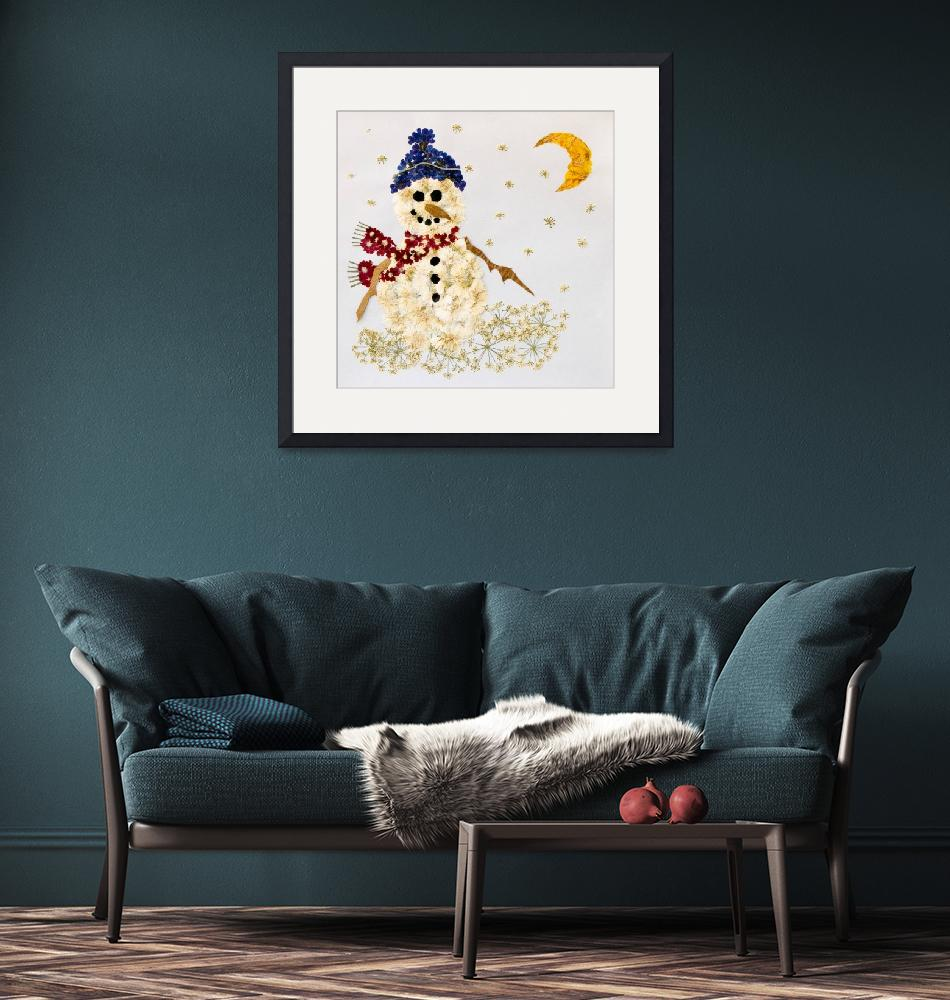 """""""Snowman""""  (2004) by zhlany"""