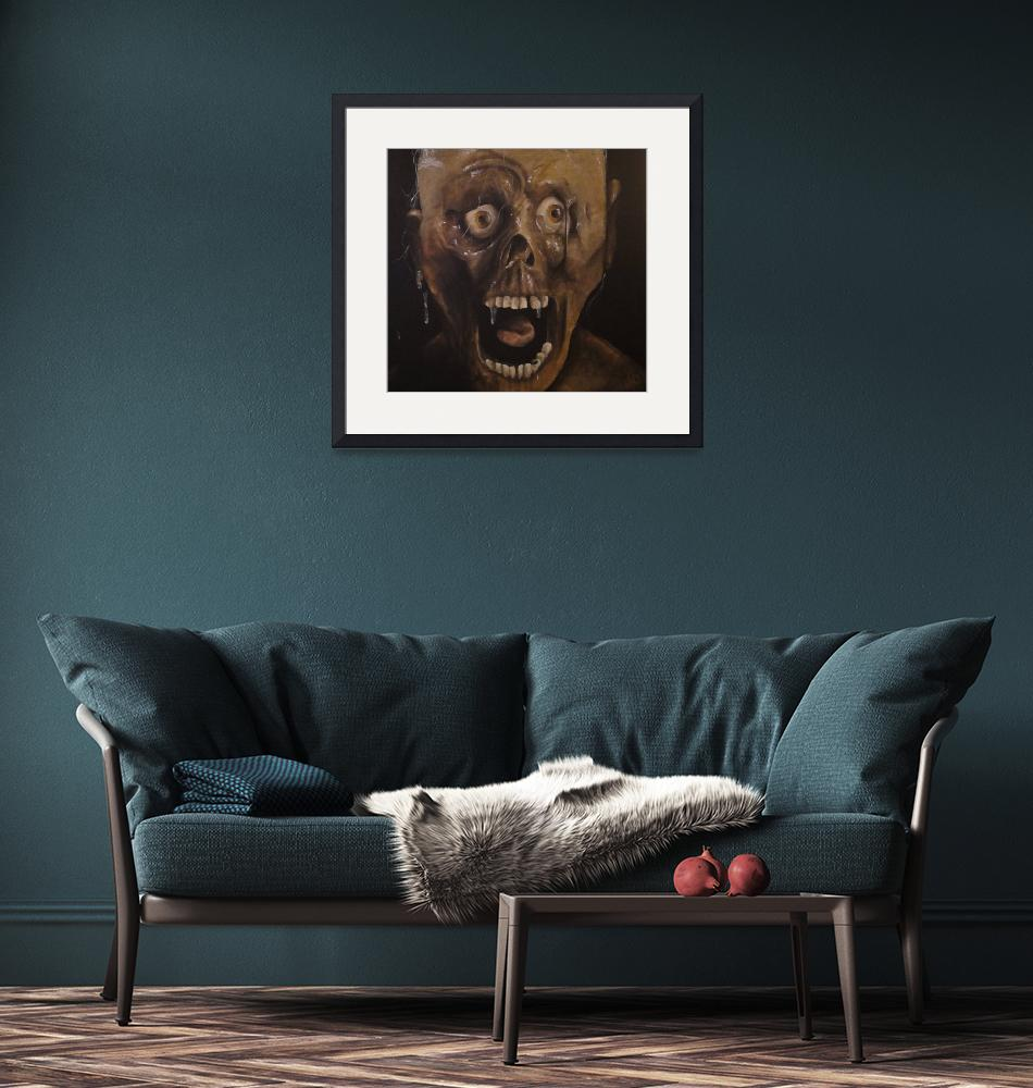 """""""Horror Tarman Zombie"""" (2008) by akrylicmacabre"""