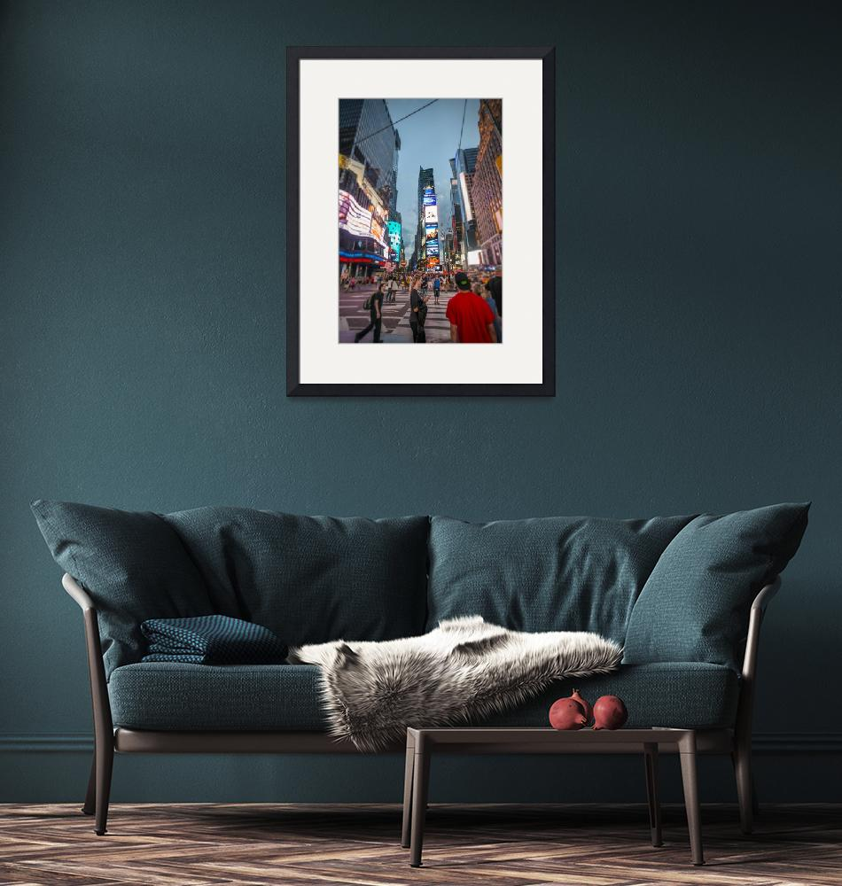 """""""Times Square"""" (2012) by kbrimson"""