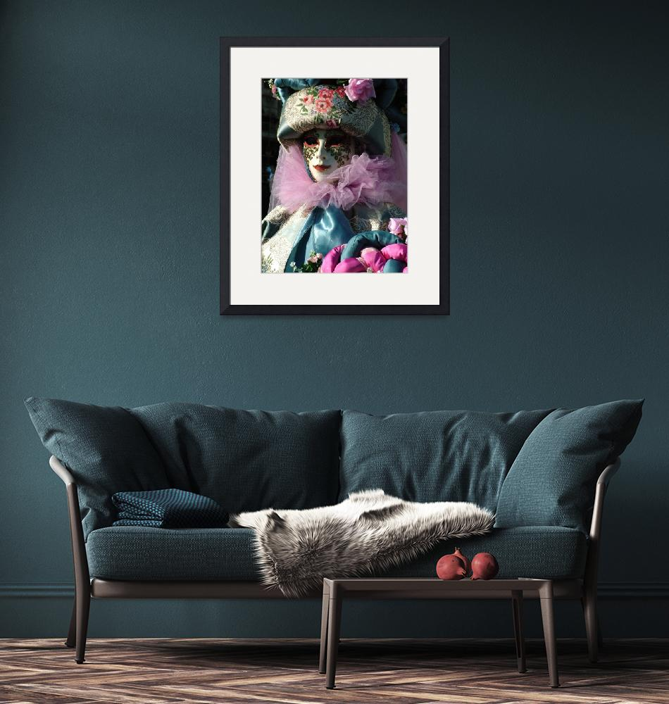 """""""pink blue tapestry lady""""  by DonnaCorless"""