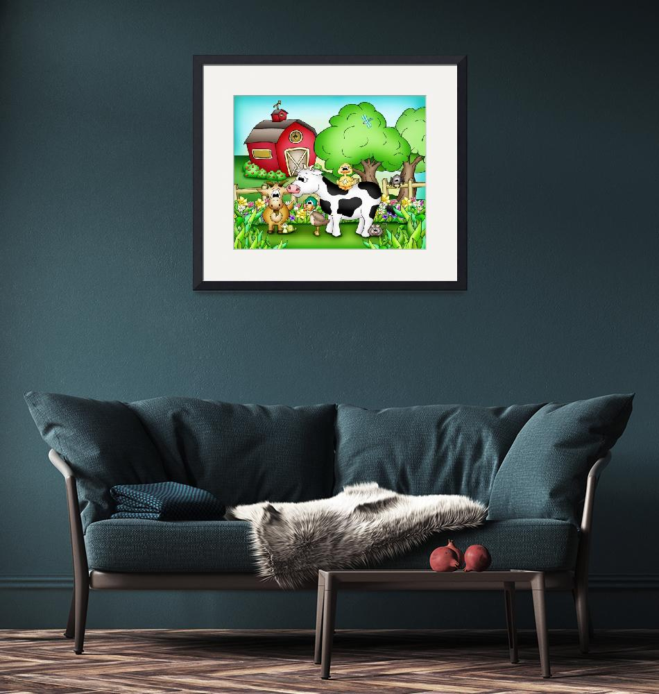 """Farm Animals with Cow""  (2010) by just4mebooks"