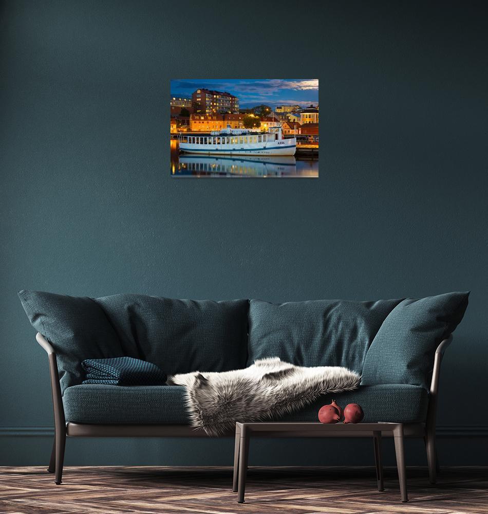 """Vintage Swedish Ferry""  (2013) by Inge-Johnsson"