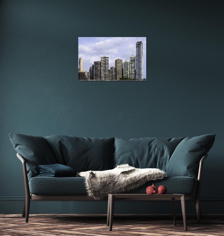 """Panama City skyline, Panama.""  by FernandoBarozza"