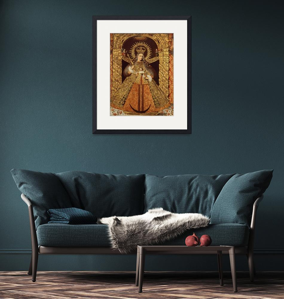 """""""Bolivia~Virgin of the Victory of Malaga""""  by Old_master"""