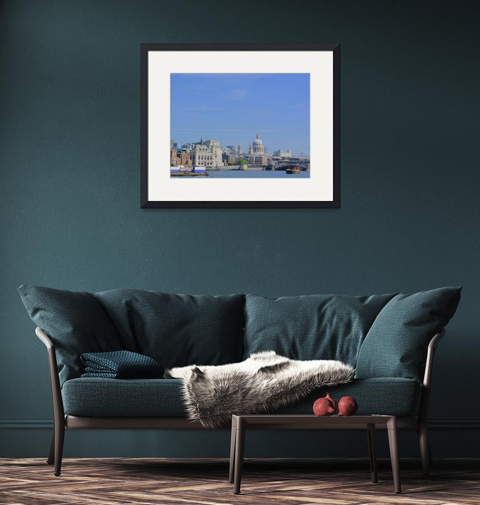 """""""London River Thames""""  (2014) by lxvisa"""