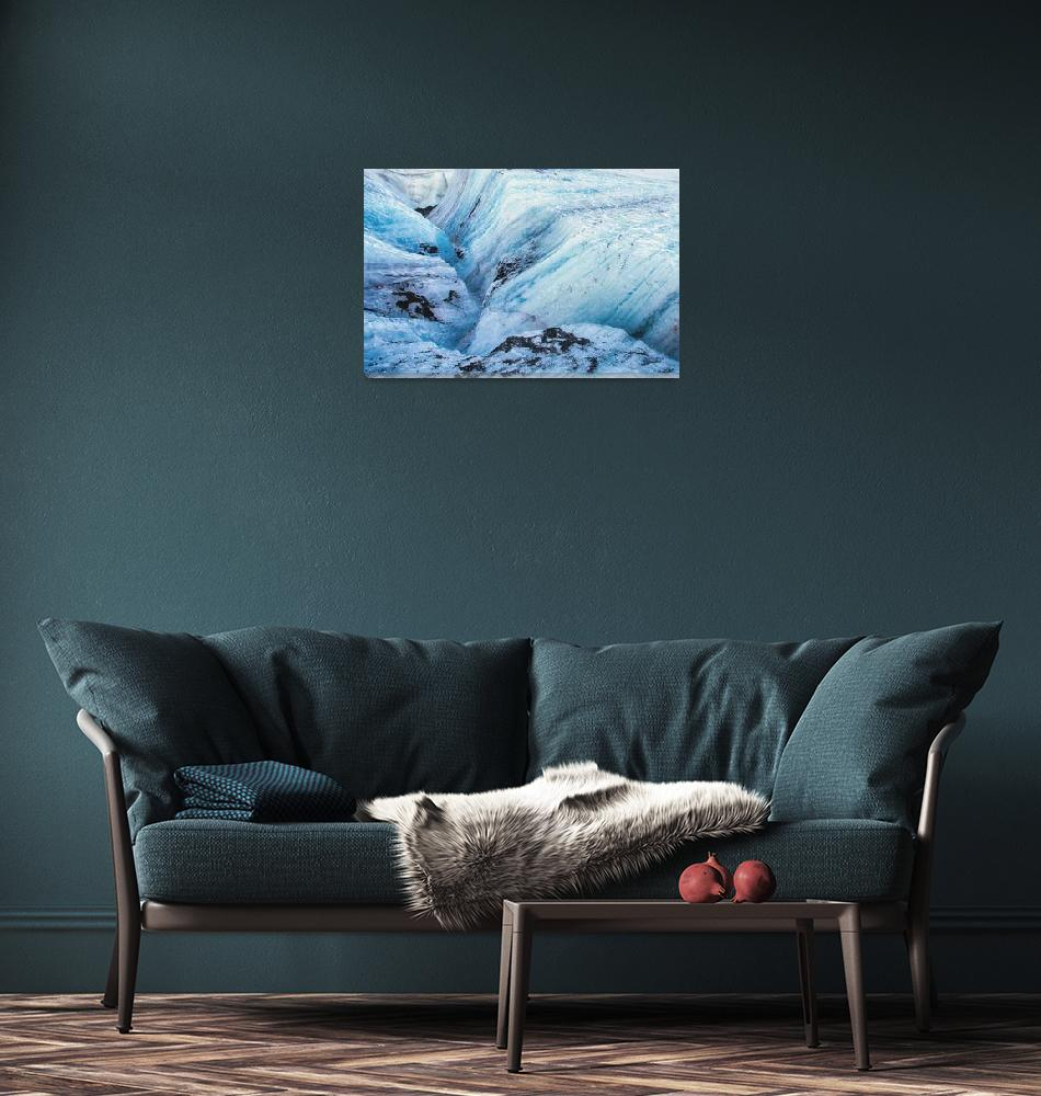 """""""Glacial Canyon Myriad""""  (2014) by PadgettGallery"""