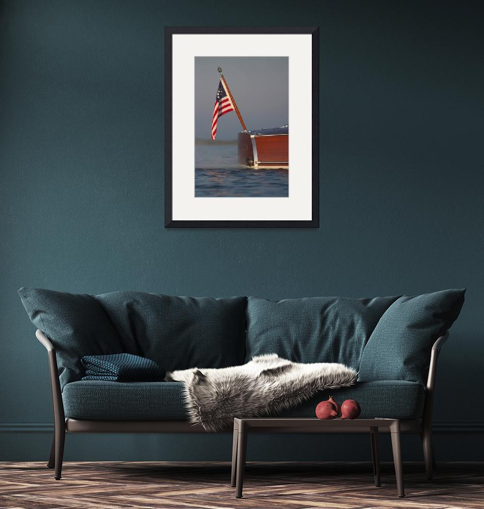 """""""The Yacht Ensign""""  by dteetor2"""